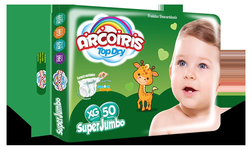 GB Higienicos - Arcoiris Super Jumbo XG 50 com alca - Fevereiro 2014_M