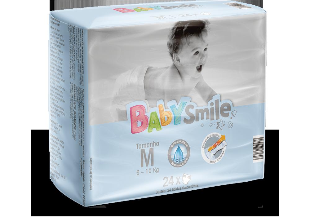 gb-higienicos-fraldas-infantil-baby-smile-m24